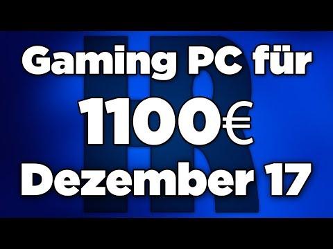 1100€ Gaming PC Dezember 2017 | Intel & AMD + GTX 1070 | Computer günstig kaufen