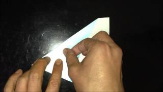 81.how To Fold Origami Of The Airplane