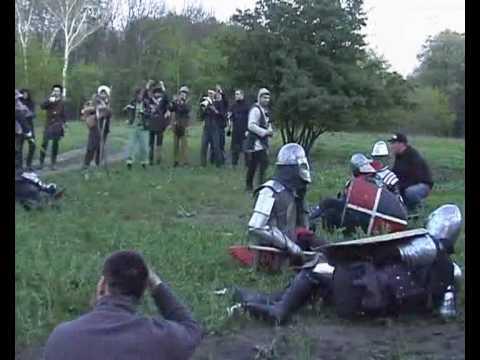 2-й мини-бугурт на окончании игры, Рубежное 2010