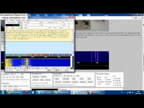 CW(Morse) decoding with FLDigi and Websdr