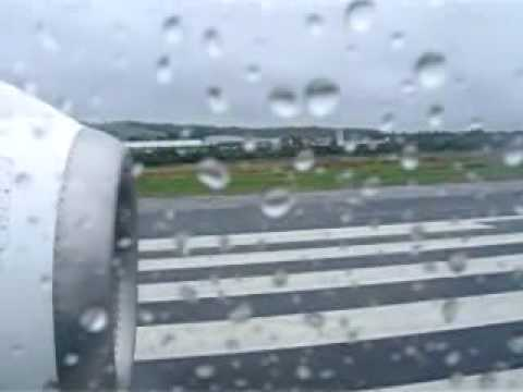 flybe BAe146 takeoff