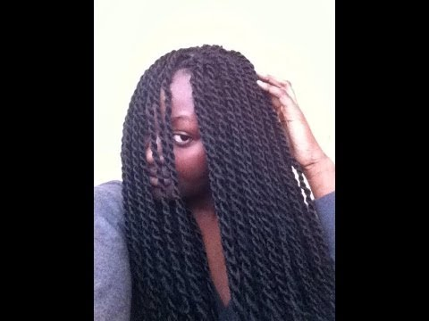How I do my Senegalese Twist