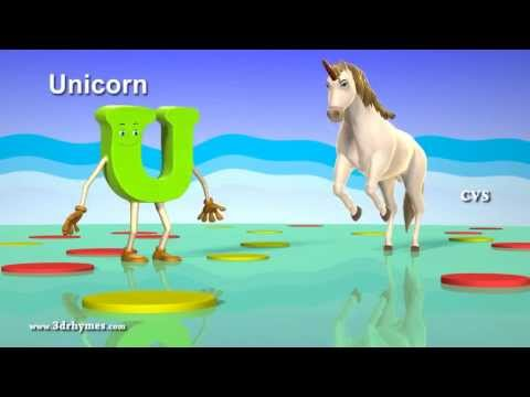 A Is For Ant Nursery Rhymes - 3D Animation ABC Animals Alphabet Song For Children