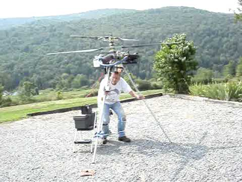Ultralight Helicopter Project - Video #4