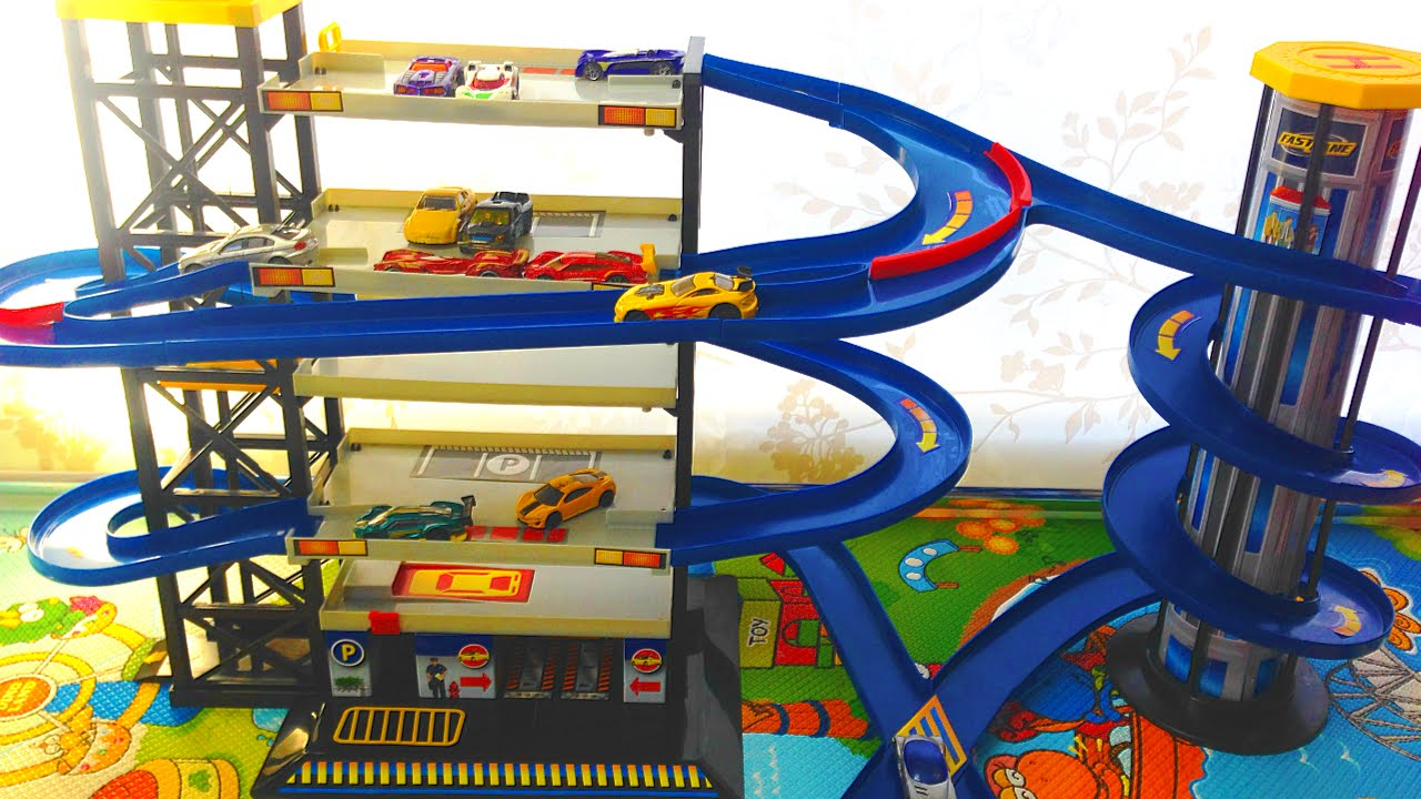 Parking Garage Toy For Toddlers images