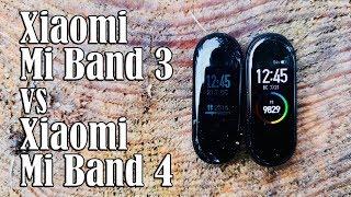 Xiaomi Mi Band 3 vs Xiaomi Mi Band 4 II Пленных не брать !!!