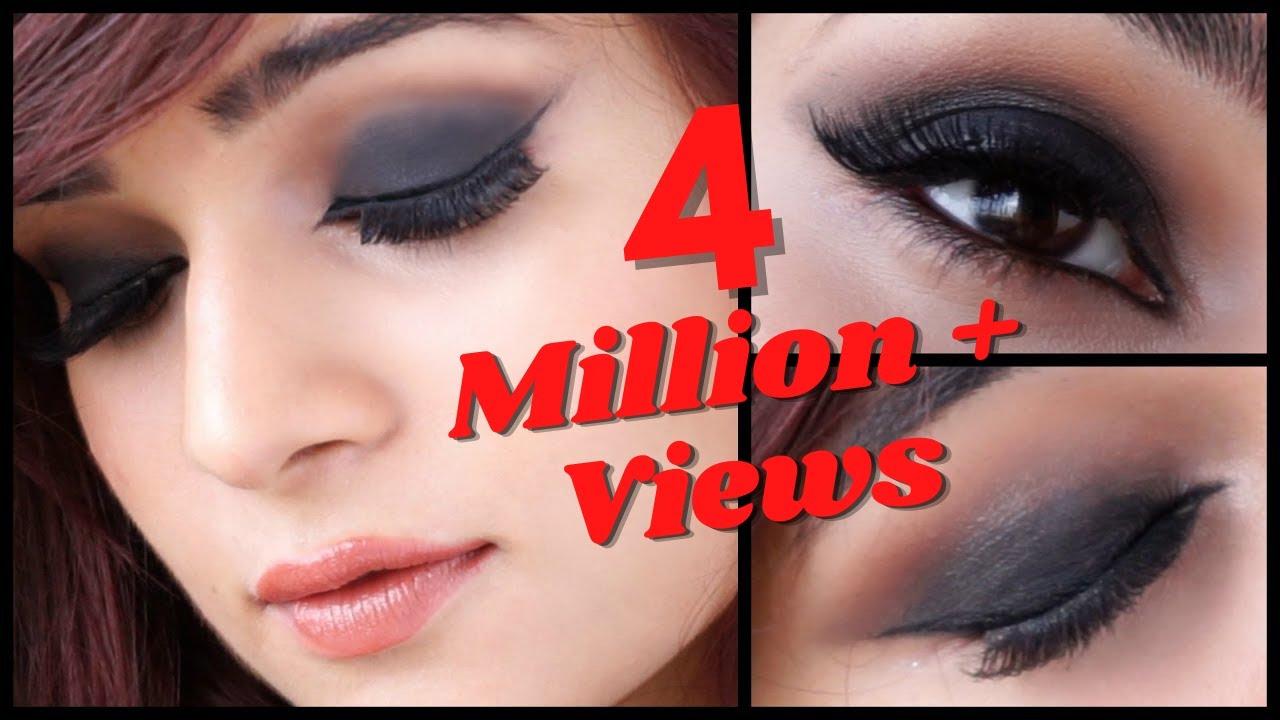 Video of smokey eye makeup