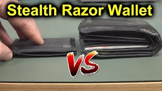 EEVblog #1250 - World's Thinnest Wallet Review - Stealth Razor