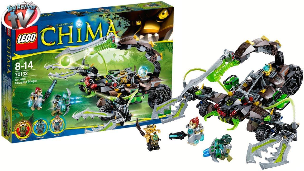 LEGO Chima 2014 Scorm's Scorpion Stinger 70132 Toy Review ...