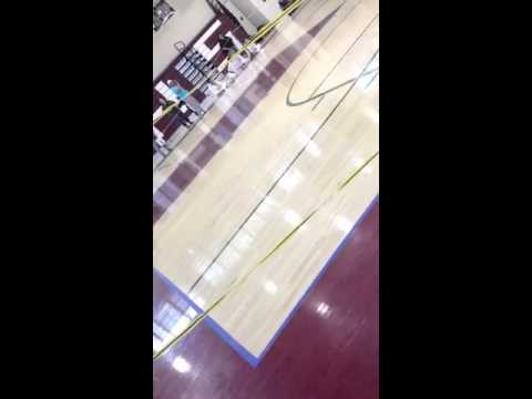 Master dan doin' the Bo form at Bridgeton high school