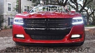 2015 Dodge Charger R/T - Full-Throttle Hooning in 4K HD!  Paddle-Shift Sprints