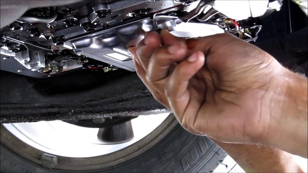 Transmission Filter  U0026 Gasket Change Toyota Camry V6