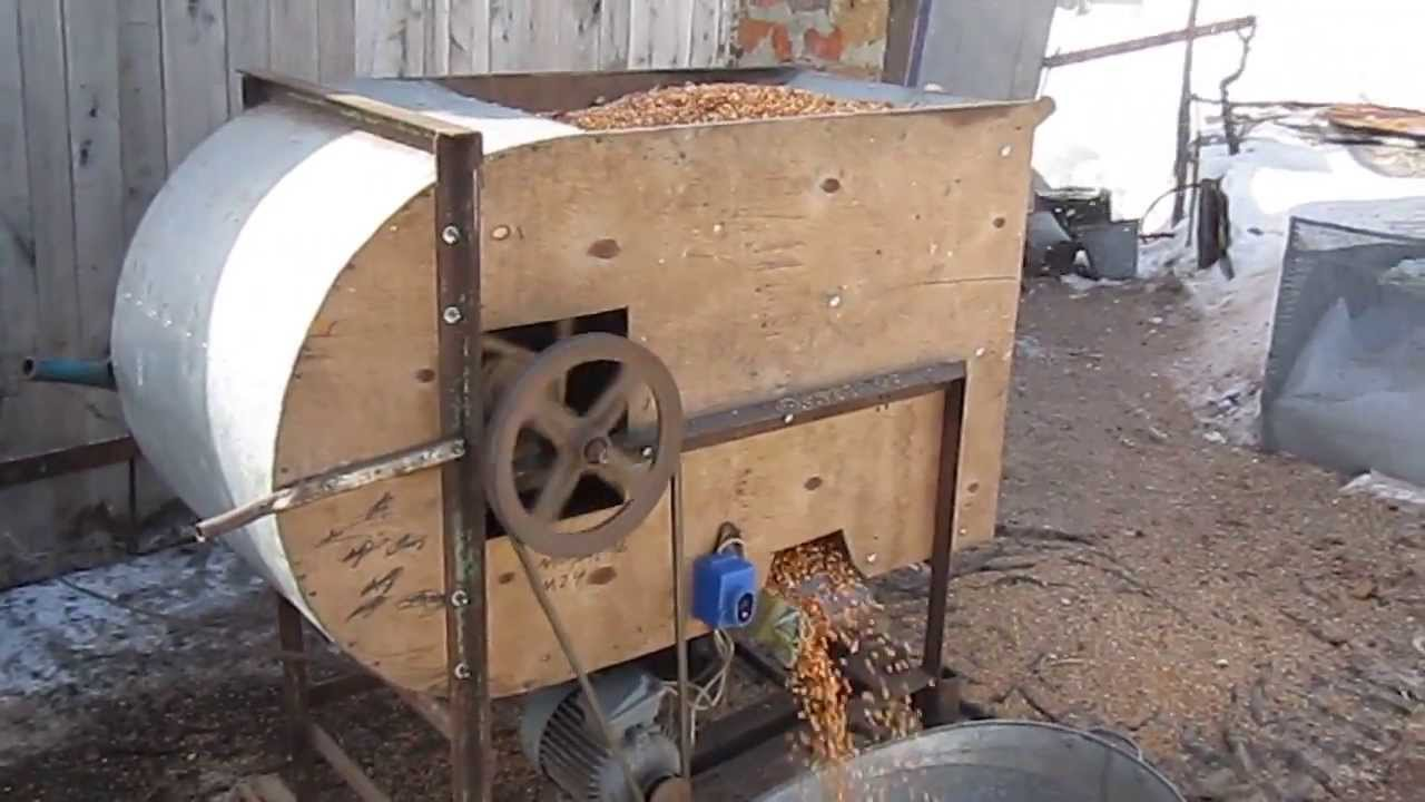 MVI 0411 саморобна зерноочистна віялка - YouTube