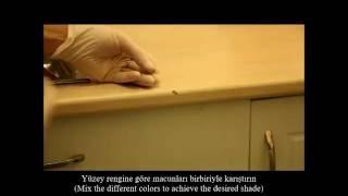 Kitchen Counter Repair ( Hardfill )