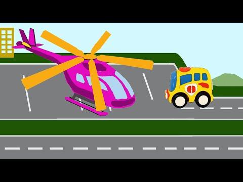 Мультики про машинки автобус и