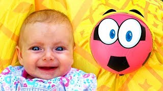 Baby Song - The Ball | +More Nursery Rhymes for kids