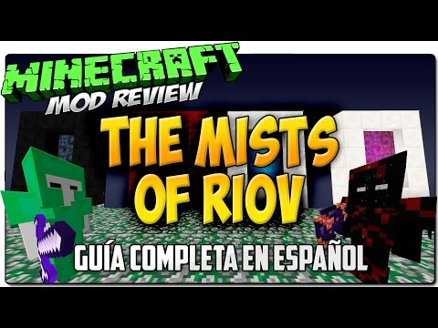 THE MISTS OF RIOV MOD   Guerra de dioses   MINECRAFT 1.7.2 Y 1.7.10 REVIEW ESPAÑOL
