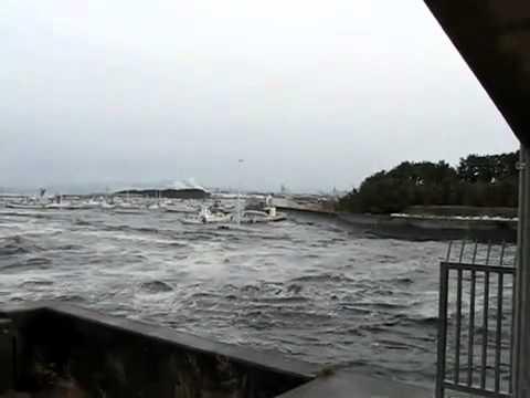 Incoming Tsunami Japan 3/11/11