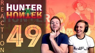SOS Bros React - HunterxHunter Episode 49 - Into The Belly Of The Beast