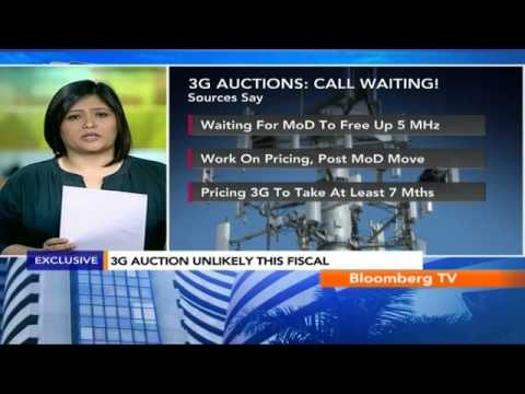 Market Pulse: 3G Auction Rev Not Part Of Budget