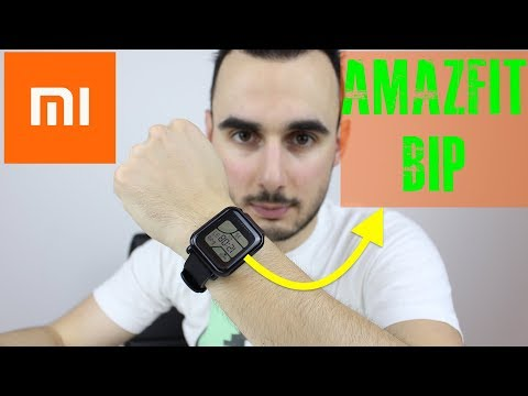 Xiaomi AMAZFIT BIP smartwatch review / análise em português