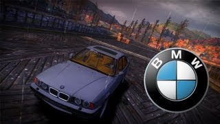 Need for Speed Most Wanted 2005 - BMW M5 E34 1995 - Car mod