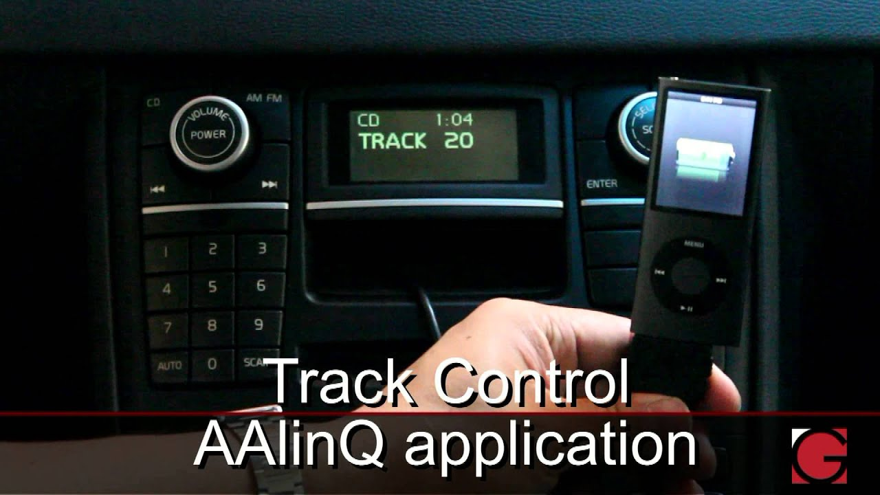 GROM Volvo XC90 2007 2008 2009 2010 Bluetooth Hands Free iPod iPhone Android USB Car Kit Demo ...