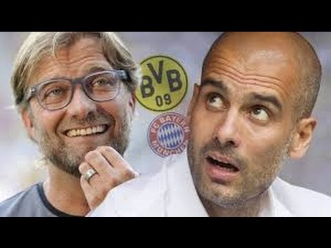PEP VS KLOPP FOOTBALL TACTICS:BAYERN MUNICH'S NEW FORMATION  DORTMUNDS 4-2-3-1, 4-1-3-2 3:GLEN130182