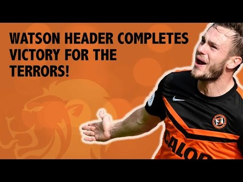 Watson header completes rout for Dundee United!