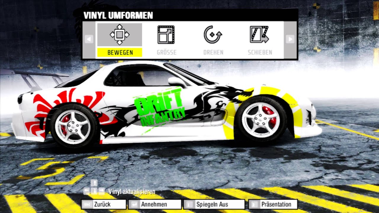 Nfs Prostreet Mazda Rx 7 Tuning For Drift Youtube