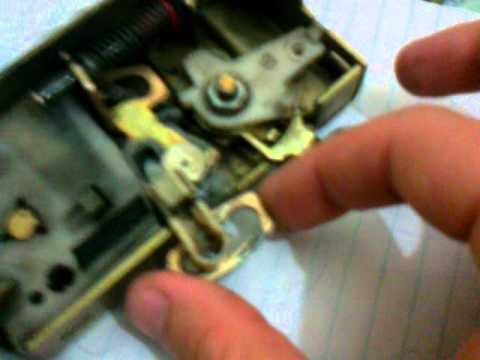 Ford Fiesta Unworking Door Lock Mechanisem Youtube