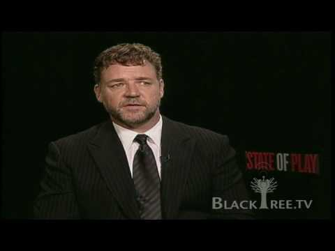 Russell Crowe Interview, State of Play (Views on Media)
