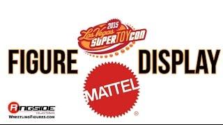 WWE Figure Insider: SuperToyCon 2015 - Mattel Figure Display!
