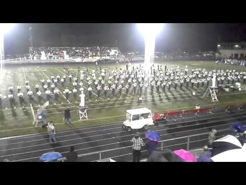 Copley High School Marching Band   Thriller 2014 10 31