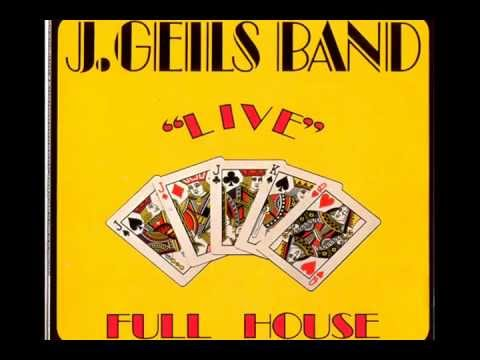 J.Geils Band - Cruisin For A Love - Full House 1972