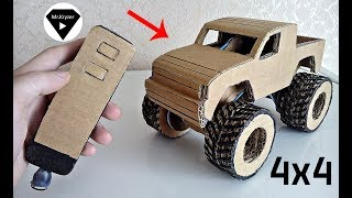 How to make a car from cardboard?