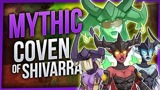Coven of Shivarra | Mythic Antorus the Burning Throne | EleShaman [WoW Legion 7.3.2]
