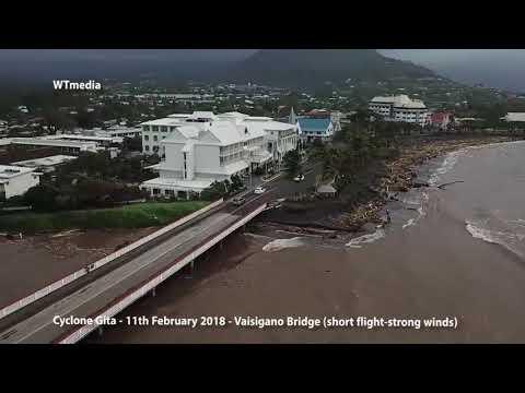 Samoa Cyclone Gita 11Feb2018 Vaisigano