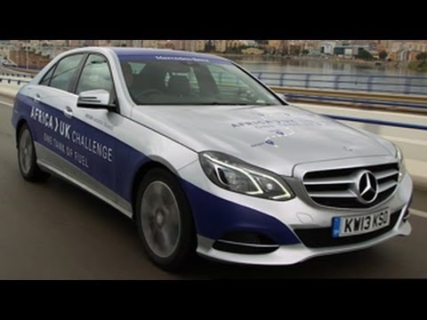 Subscribe to the channel now: http://smarturl.it/autocar Is it possible to drive a super-frugal Mercedes-Benz E300 BlueTEC Hybrid from Africa to the UK on on...