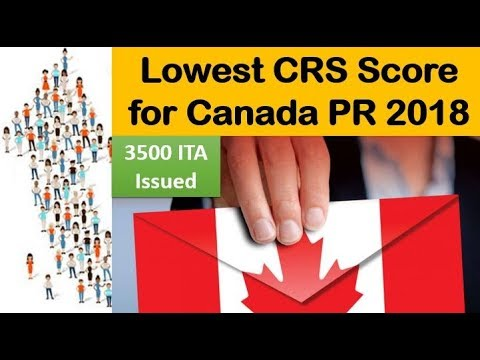 Express Entry Lowest CRS Score for Canada PR