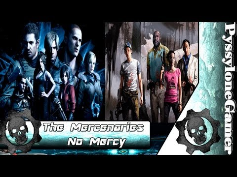 Resident Evil 6 - Extra Left 4 Dead 2 The Mercenaries No Mercy Nick muito foda XD