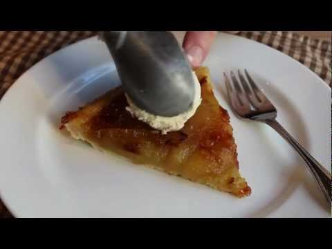 Tarte Tatin Recipe - Easy Caramel Apple Tart