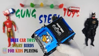 Blue Color Car Toys Angry Birds For Kids Playing - Toys Cars For Kids