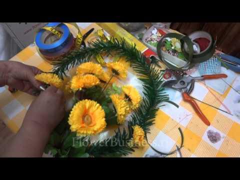 Как своими руками сделать цветы на кладбище