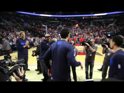 Wesley Matthews receives warm welcome in return to Portland
