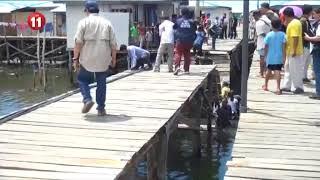 collapsed footbridge zamboanga city