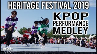 [KPOP PERFORMANCE MEDLEY] Annual Heritage Festival Korean Pavillion Performance 2019