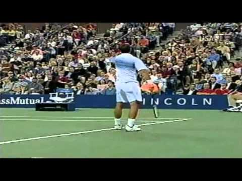 2002 US OPEN ロディック vs サンプラス