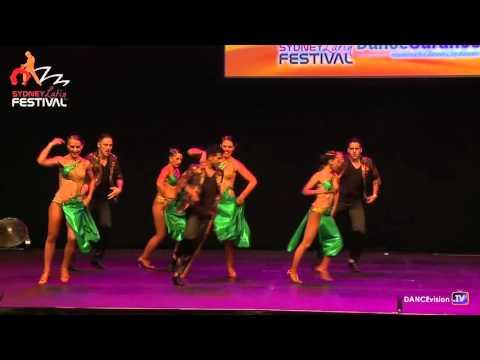 Spin City Dance Pro Team - Sydney Latin Festival 2016