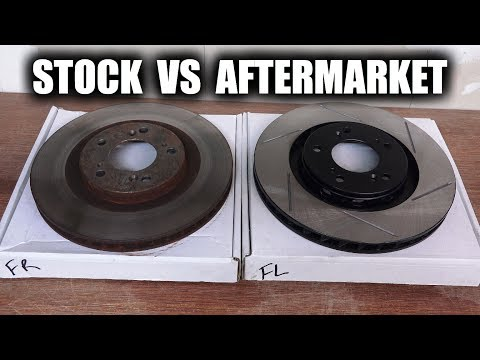Do Performance Brake Rotors Have Better Cooling?